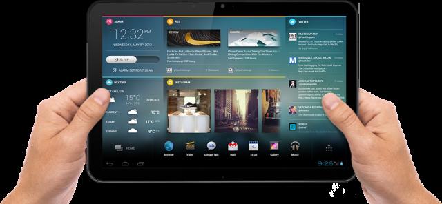 výkonný tablet